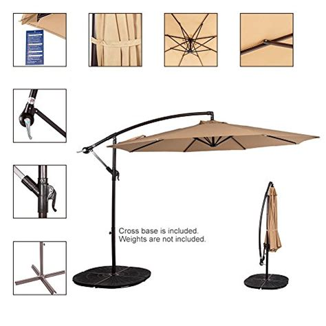 sundale outdoor folding canopy tent pop up shelter shade