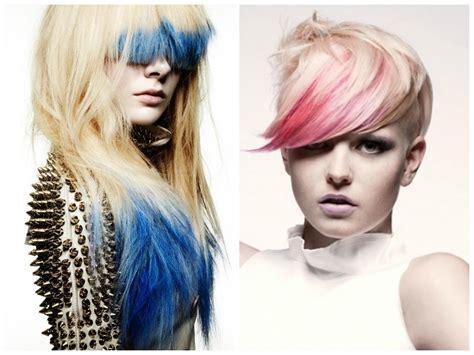 Dip Dyed Bangs Hair