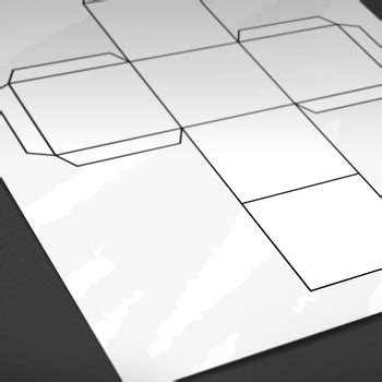 Printable: Blank Cube Template by HardPlayed | Teachers ...