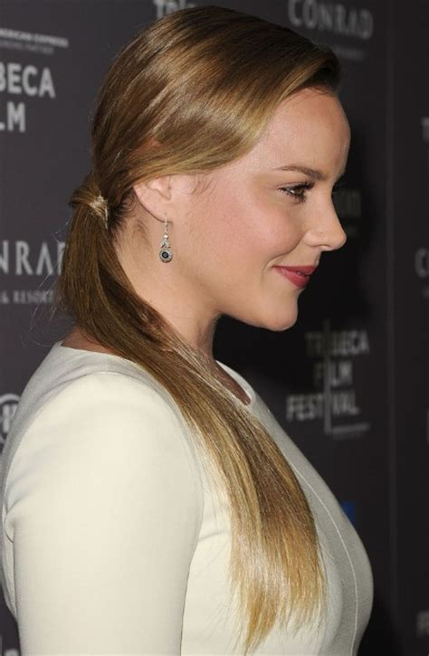side view  ponytail hairstyle long sleek ponytail hairstyles weekly
