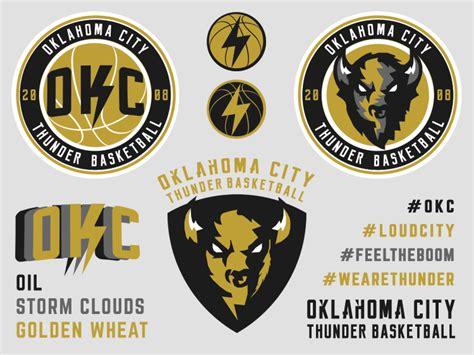 849b7e1c3 Oklahoma City Thunder Rebrand Concept On Behance