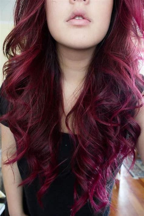 reddish purple hair color beautiful auburn violet hair ohhhh i need to dye my