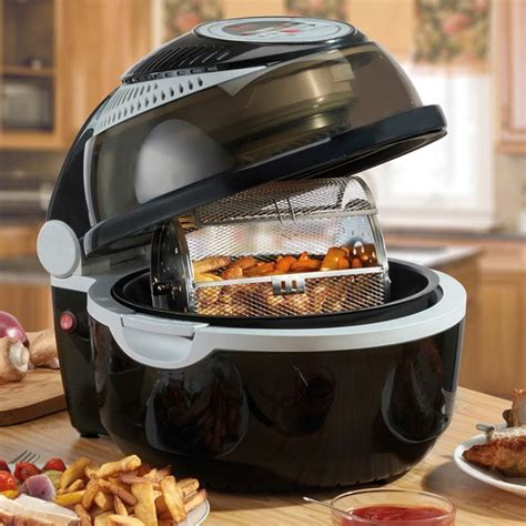 rotisserie air fryer accessories cooks professional digital oven pack fryers 10l amazon halogen cooking cooker clifford james fat metal glass