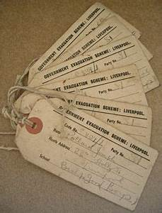 evacuee labels ww2 pinterest history school and With evacuee tag template