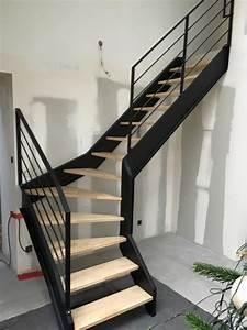 Escalier Quart Tournant Haut Droit : escalier quart de rond id es de ~ Dailycaller-alerts.com Idées de Décoration