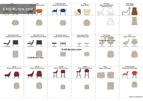 bar stool cad block   autocad models