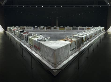 Brooklyn Museum The Dinner Party By Judy Chicago