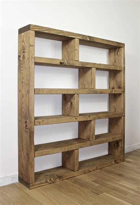 Bookcase Shelving Unit by Rustic Lover Shelving Bookcase Unit New Forest Rustic