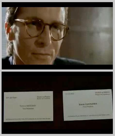 business card  crap