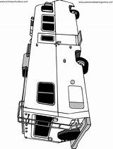 Pages Motorhome Coloring Colouring Campers Template Happy Camping Caravan Cricut Van Rv Preschoollearningonline Templates sketch template