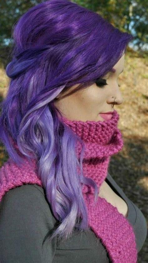 2016 Purple Hair Color Ideas   Haircuts, Hairstyles 2016
