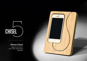 Iphone 4 Dockingstation : the chisel docking station for iphone 5 gadgetsin ~ Sanjose-hotels-ca.com Haus und Dekorationen