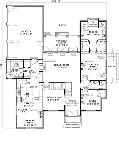 luxury house floor plan faroe luxury home plan 055s 0022 house plans and more