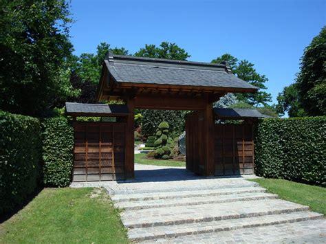 Japanischer Garten Eingangstor by Freiburg Breisgau Eingangstor Zum Japanischen Garten Ein