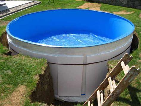 pool eingraben ohne beton stahlwandpool rund aufbauanleitung pooldoktor at