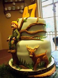 A Deer Hunter's Birthday Cake - CakeCentral com