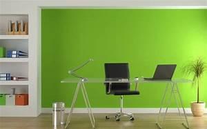 Wandgestaltung Büro Ideen : 100 interieur ideen mit grellen wandfarben ~ Lizthompson.info Haus und Dekorationen