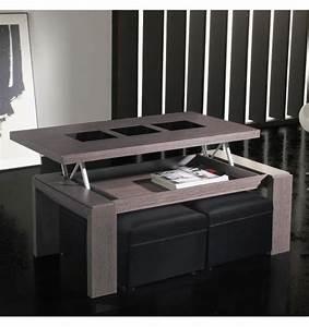 Table Basse Bois Et Verre : table basse relevable bois cendr et verre d co et ~ Teatrodelosmanantiales.com Idées de Décoration