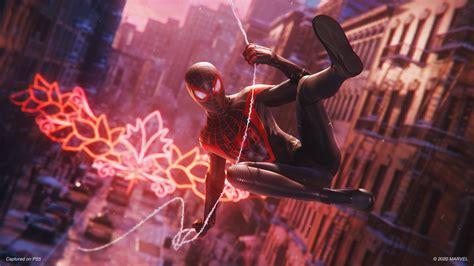 wallpaper spider man miles morales gameplay ps