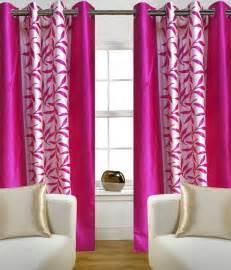 buy iliv pink kolaveri window curtains set of 2
