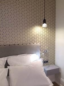 Papier Peint Tendance : deco decoration tendance chambre papier peint tete ~ Premium-room.com Idées de Décoration