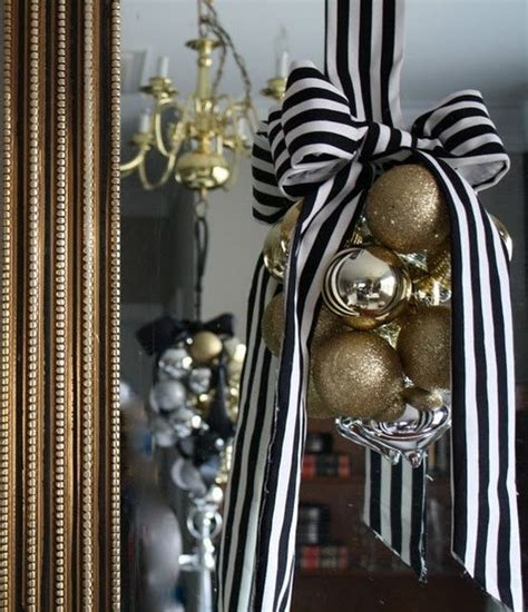 black christmas decorations images  pinterest