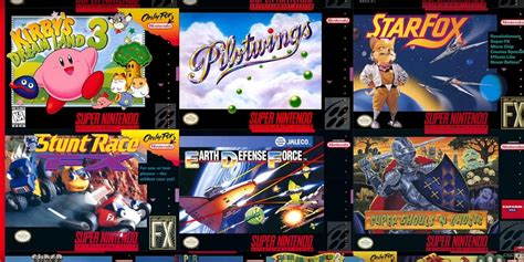 Super Nintendo Games On Switch Online 20 Classic Titles