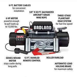 Badland 12000 Winch Wiring Diagram