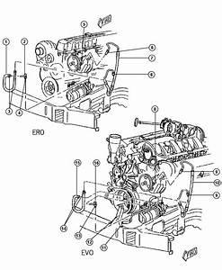 2006 Dodge Caravan Hose  Power Steering Pressure