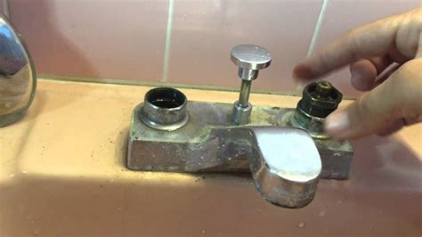 fix  dripping american standard bathroom faucet