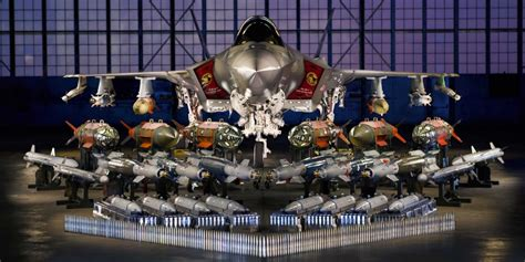 Lockheed Martin F35 And All Its Weapons  Business Insider