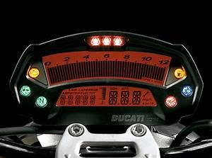 Ducati Monster 696 Instrument Cluster