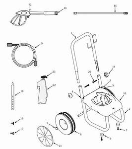 Campbell Hausfeld Pw2575 Pressure Washer Parts