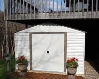 ids under deck storage shed plans