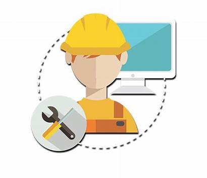 Field Services Tech Icon Service Management Maintenance