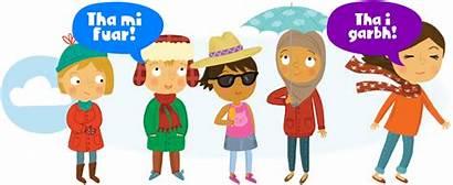 Weather Different Types Gaelic