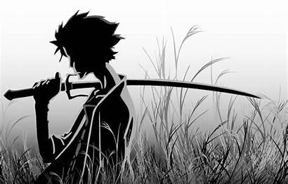 Samurai Anime Champloo Katana Mugen Drawing Boys