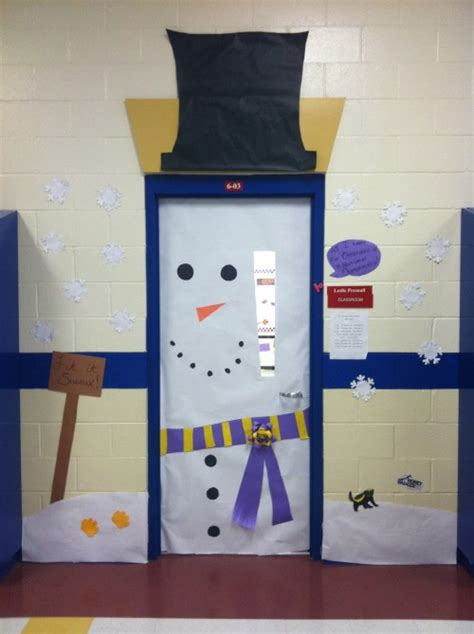 Classroom Door Decorating Contest by Winter Bulletin Boards
