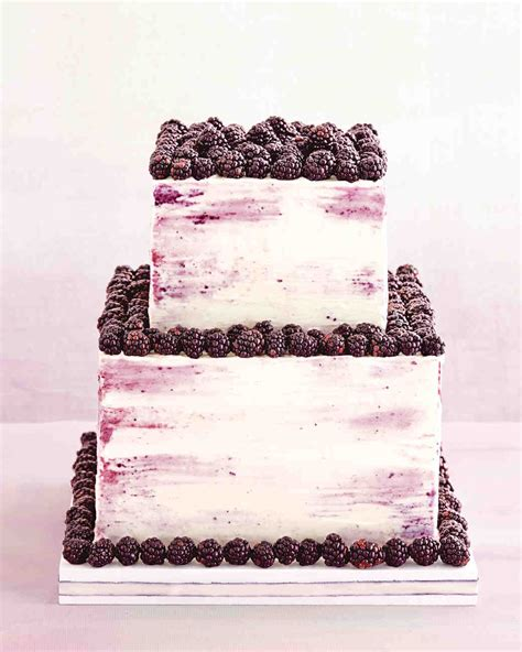 blackberry cake  whipped cream filling  frosting