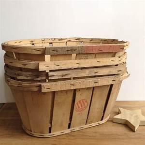 Cagette En Bois : cagette en bois ancienne courroie de transport ~ Teatrodelosmanantiales.com Idées de Décoration