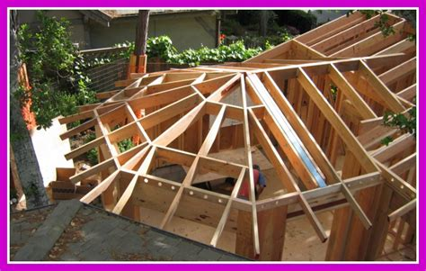 Framing A Hip Roof Addition by Framing Complex Roofs Sketchup Complex Hip Roofs And The