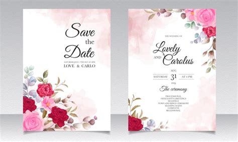 wedding invitation images  vectors stock  psd