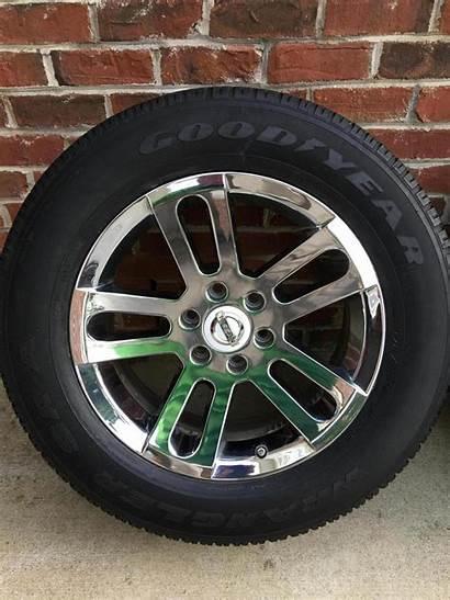 Nissan Titan Wheels Oem Armada Chrome