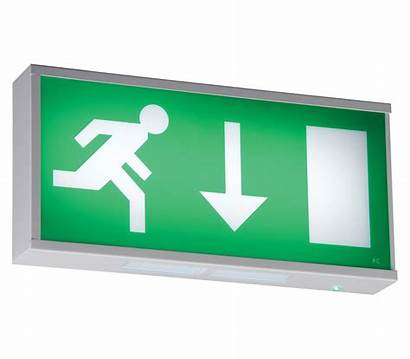 Exit Sign Led Emergency Wall Mounted Lighting