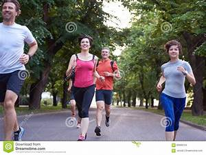 People Group Jogging Stock Photo - Image: 60699164