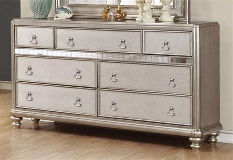 Bedroom Dressers 50 by Bling Collection Bling Seven Drawer Dresser