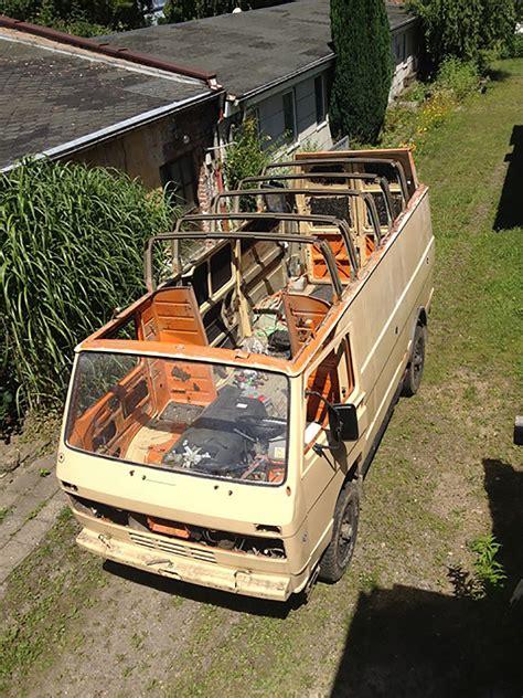 VW LT 4x4 High Top Camper Conversion   Camper Van Man