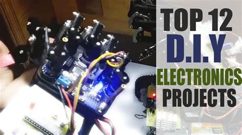 top  innovative diy electronics projects kits  youtube
