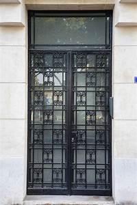 Aux Portes De La Deco : les plus belles portes art d co de paris ~ Nature-et-papiers.com Idées de Décoration