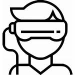 Vr Icon Reality Augmented Svg Virtual Icons